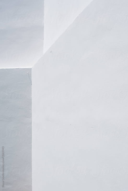Textures of white walls by Bisual Studio for Stocksy United