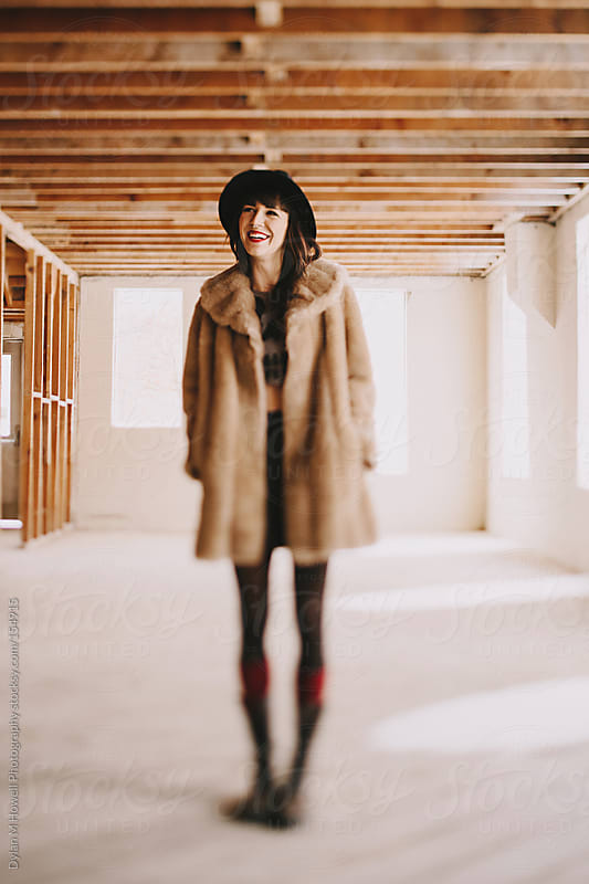 Hat and Fur by Dylan M Howell Photography for Stocksy United