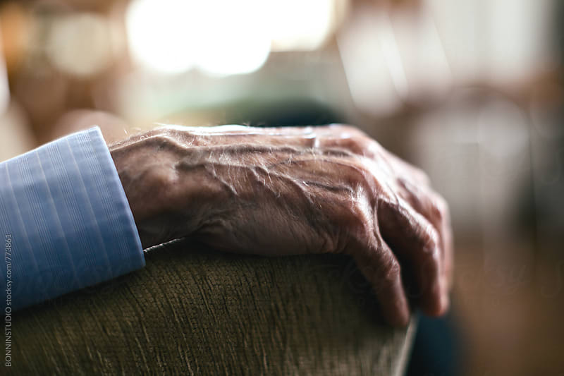Hand of an elderly man.  by BONNINSTUDIO for Stocksy United