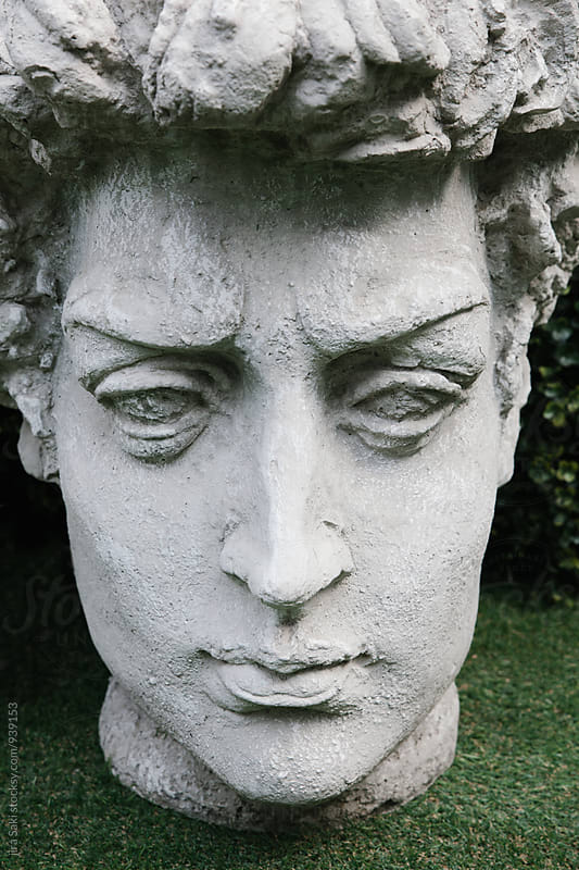 sculpture face by jira Saki for Stocksy United