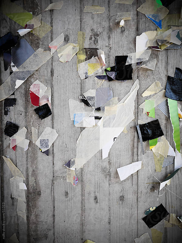 wall demolished poster by rolfo for Stocksy United