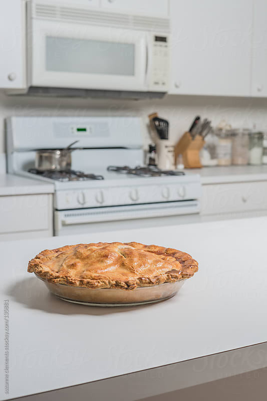 Fresh Baked Apple Pie by suzanne clements for Stocksy United