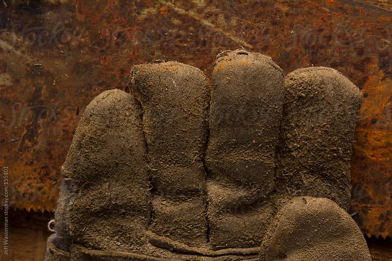 Worn Work Gloves by Jeff Wasserman for Stocksy United