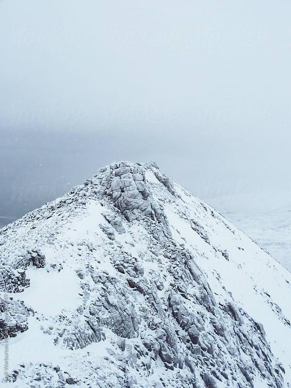Scottish Winter Ridge by Neil Warburton for Stocksy United