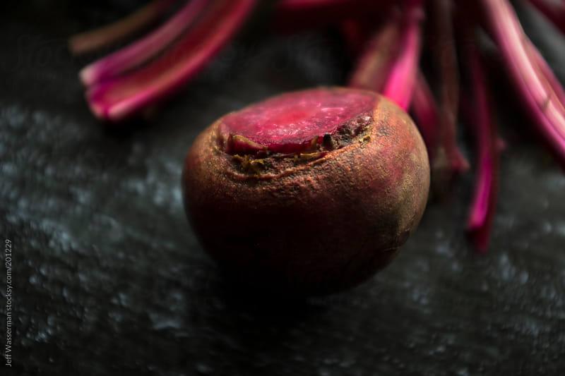 Raw Organic Beet by Jeff Wasserman for Stocksy United