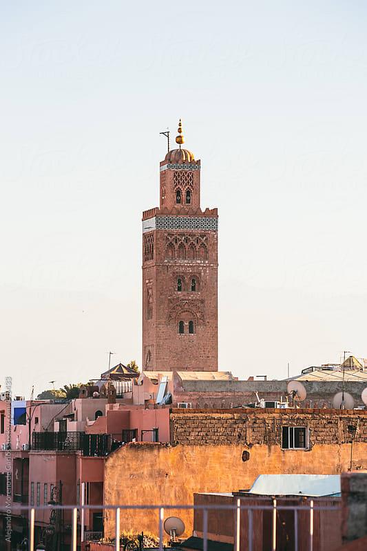 Religious building in Morocco by Alejandro Moreno de Carlos for Stocksy United