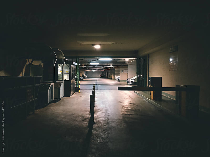 Dark entrance in public garage by Dimitrije Tanaskovic for Stocksy United