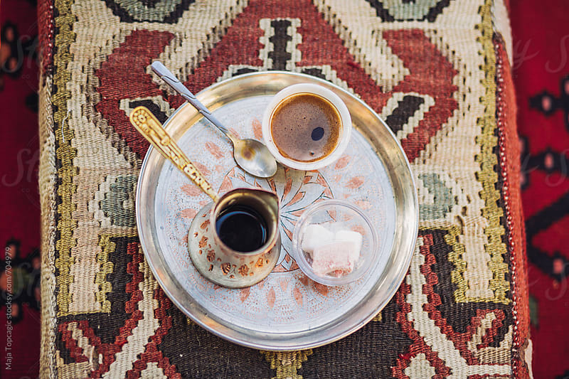 Traditional bosnian coffee by Maja Topcagic for Stocksy United