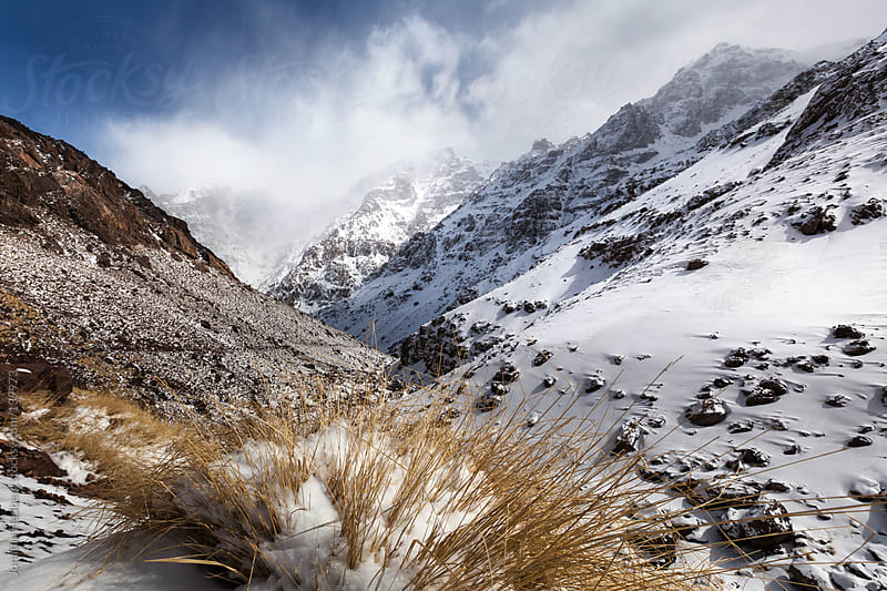 The high Atlas in the winter  by Jonatan Hedberg for Stocksy United