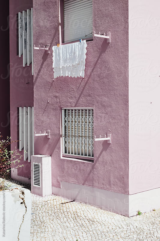 Pastel Pink Facade by Katarina Radovic for Stocksy United
