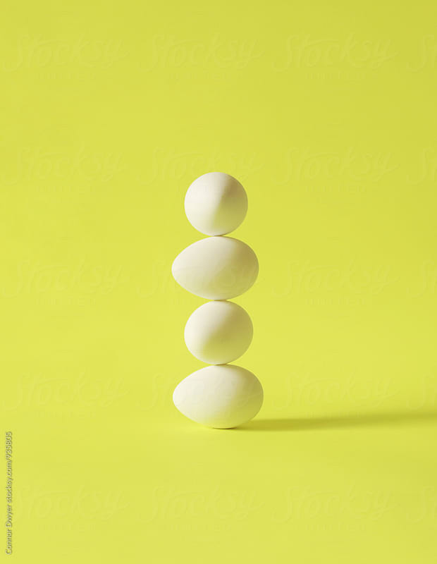 Eggstacktly  by Connor Dwyer for Stocksy United