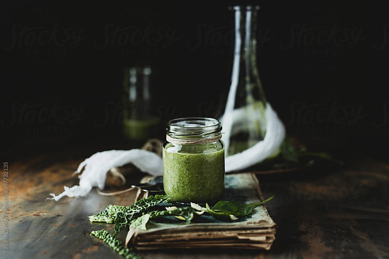 Green smoothie by Tatjana Ristanic for Stocksy United
