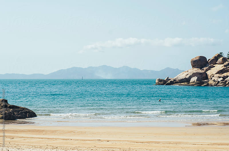 Beaches of Magnetic Island in Queensland, Australia by Dominique Chapman for Stocksy United