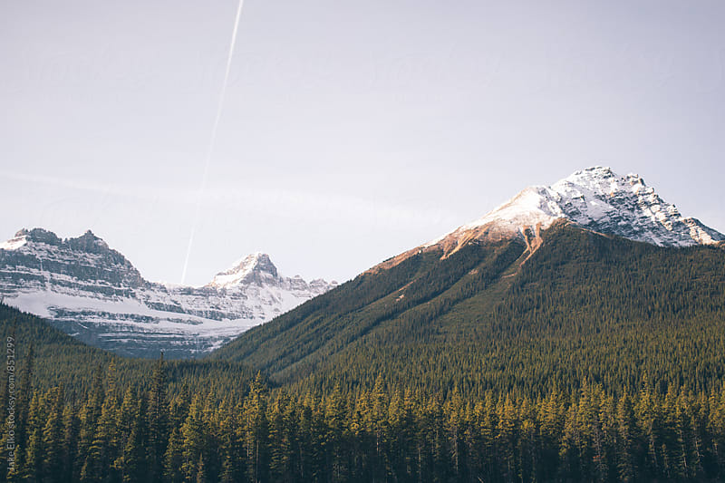 Beautiful Canadian Rocky Mountains by Jake Elko for Stocksy United