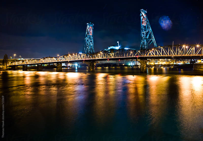Hawthorne Bridge, Portland, OR by Thomas Hawk for Stocksy United