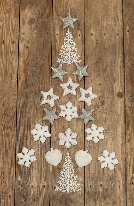Decoration in Shape of Christmas Tree by Mosuno for Stocksy United