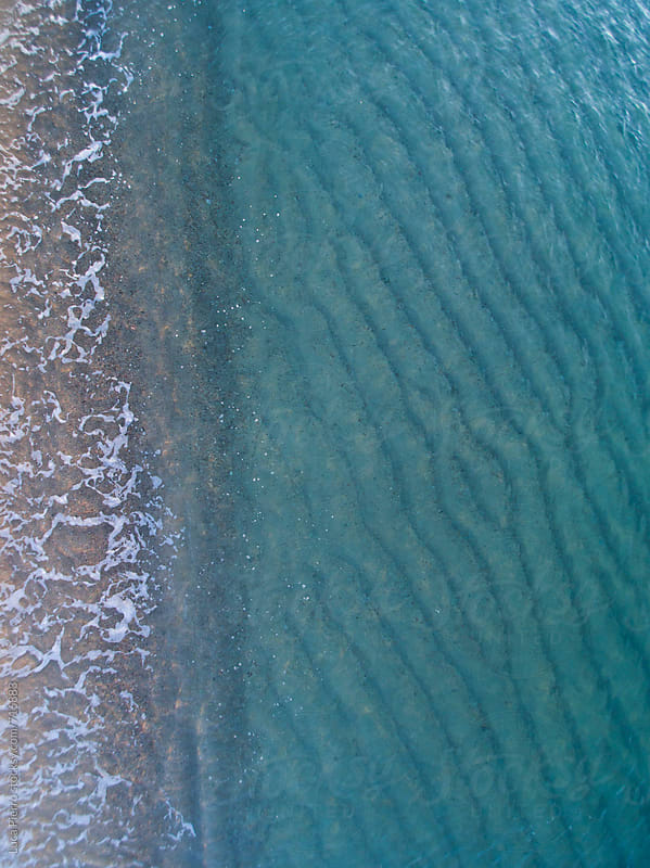 Beach seen from above by Luca Pierro for Stocksy United