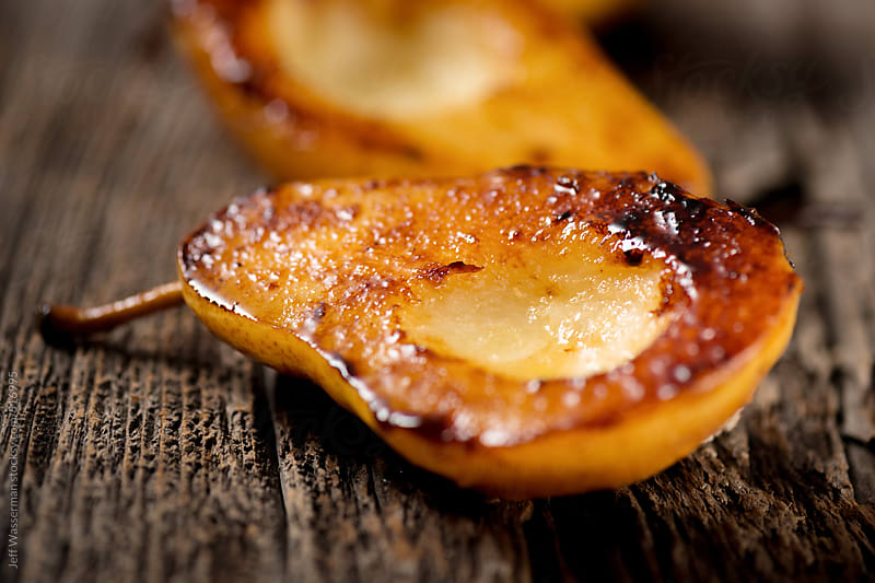 Delicious Grilled Pears by Studio Six for Stocksy United