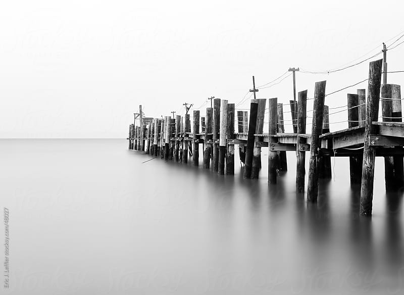 Old Pier by Eric James Leffler for Stocksy United