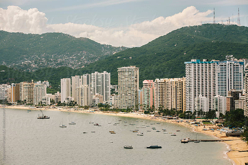 Acapulco Bay by Raymond Forbes LLC for Stocksy United
