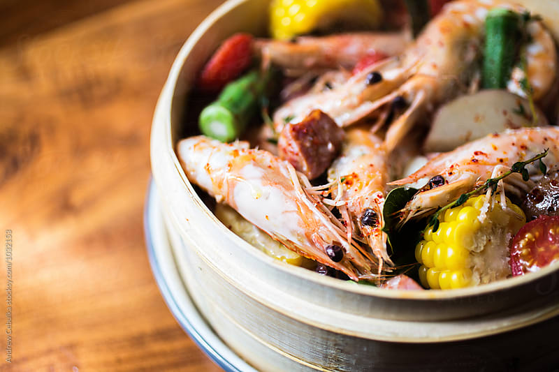 Shrimp Boil by Andrew Cebulka for Stocksy United