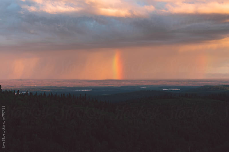 Rainbow Tornado by Jake Elko for Stocksy United