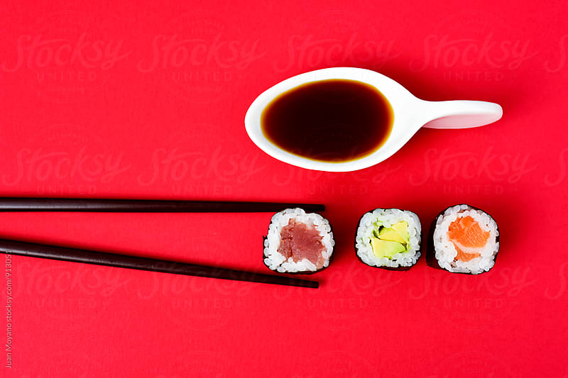 did you order japanese food? by Juan Moyano for Stocksy United