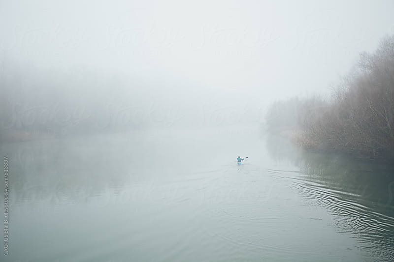 River during the winter by CACTUS Blai Baules for Stocksy United