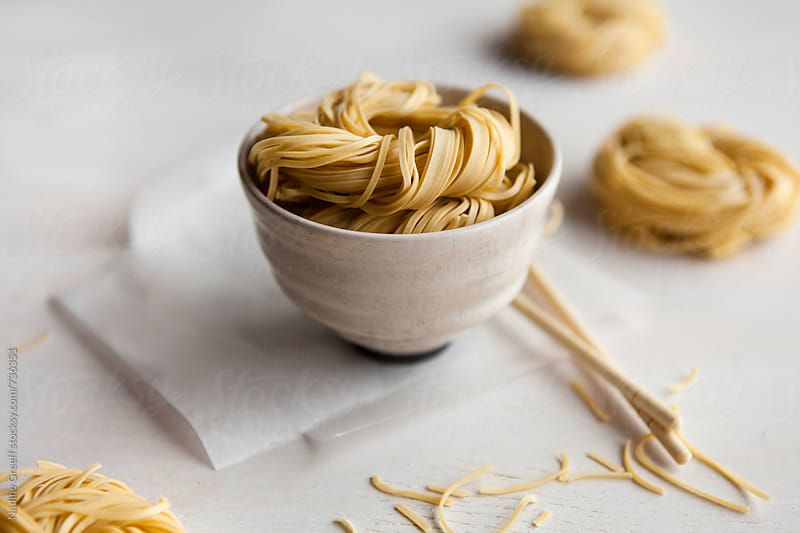 Chinese noodles by Nadine Greeff for Stocksy United