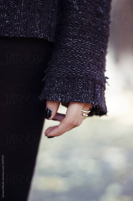 Girl's hand  by Jovana Rikalo for Stocksy United