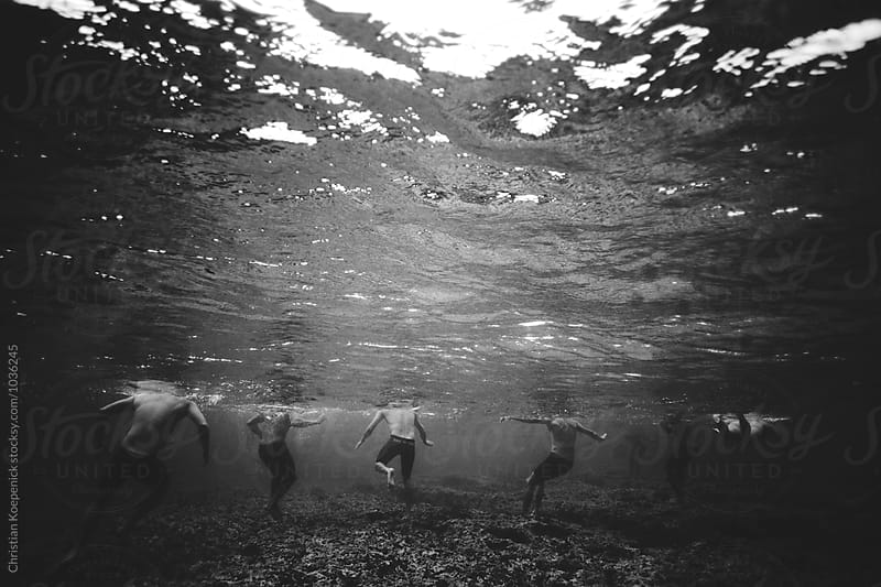 Reef Pass Swim Practice by Christian Koepenick for Stocksy United