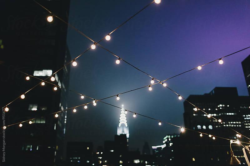 New York Skyline by Sidney Morgan for Stocksy United