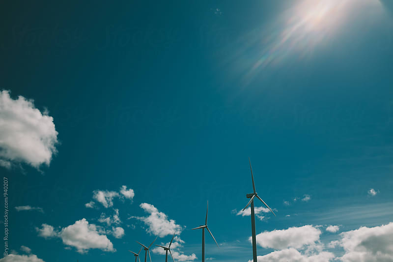 Wind Turbines by Bryan Rupp for Stocksy United
