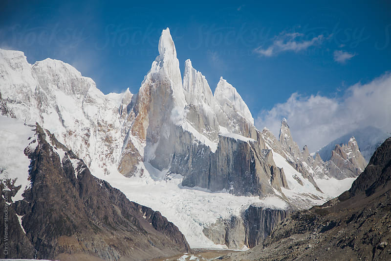 Cerro Torre Mountain Peak by Chris Werner for Stocksy United