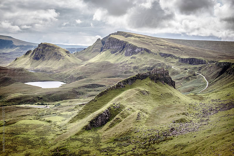 Mountains in the Highlands of Scotland, UK by James Ross for Stocksy United