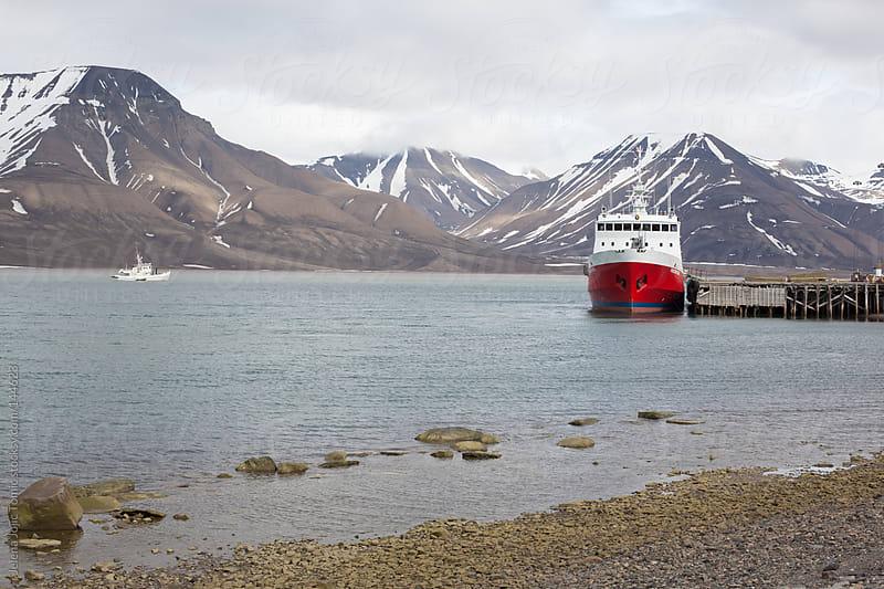 Svalbard landscape by Jelena Jojic Tomic for Stocksy United
