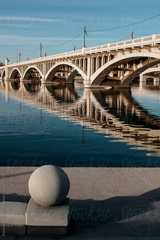 Tempe, Arizona Bridge by Raymond Forbes LLC for Stocksy United
