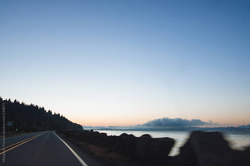 drive through the pacific northwest by Margaret Vincent for Stocksy United