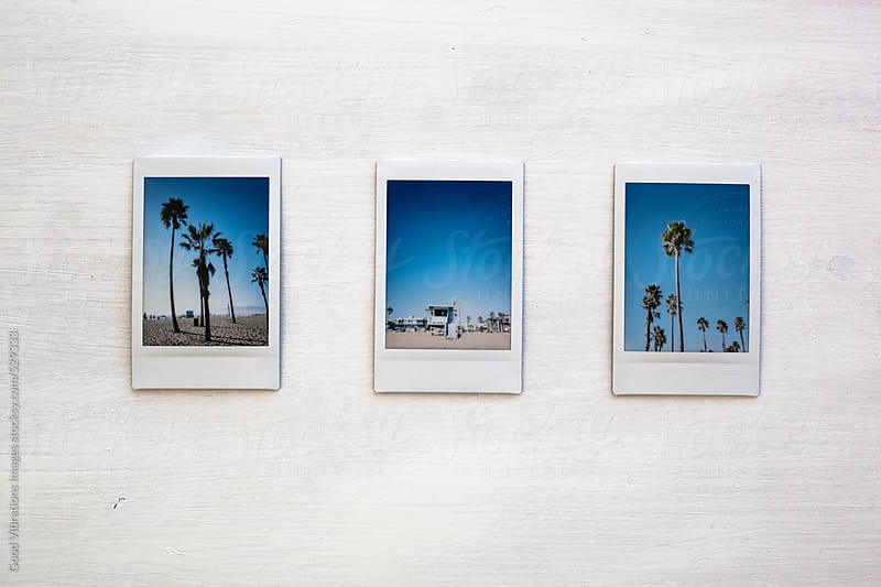 Series of printed photos from California by Good Vibrations Images for Stocksy United