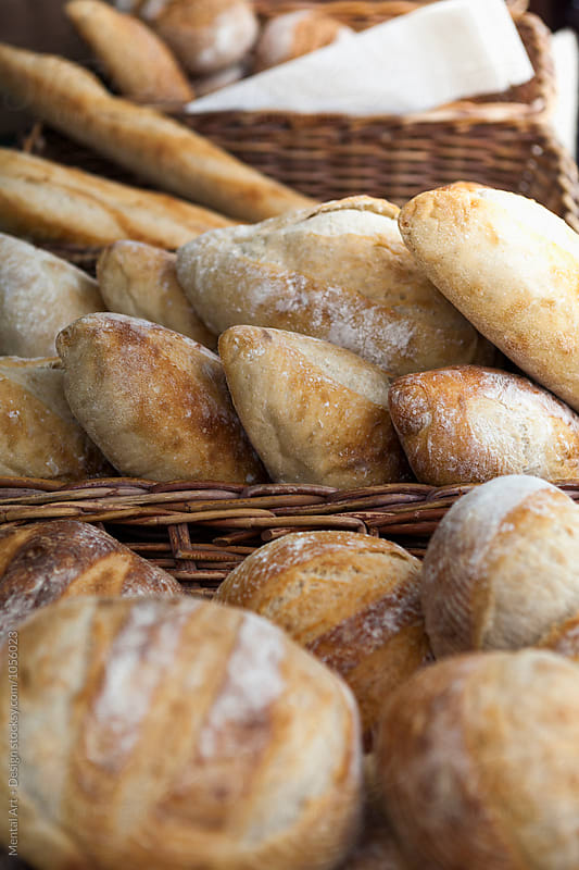 Fresh Bread by Mental Art + Design for Stocksy United