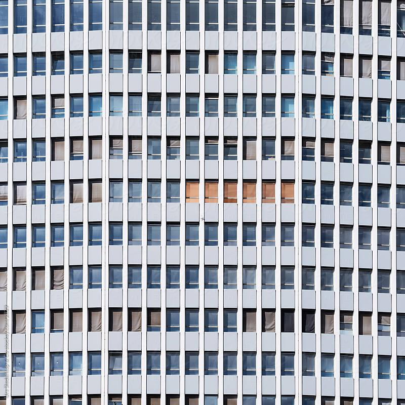 Skyscraper Windows - Facade by Urs Siedentop & Co for Stocksy United