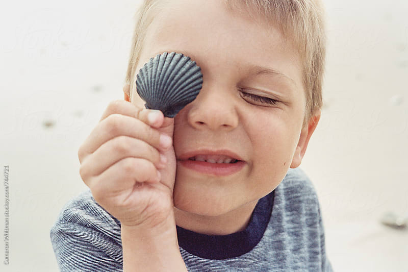 Seashell Eyepatch by Cameron Whitman for Stocksy United