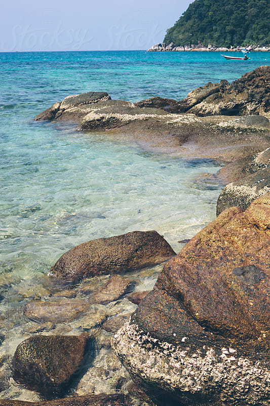 Sea in Summer by Good Vibrations Images for Stocksy United