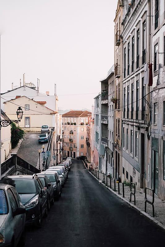 Lisbon, Portugal Street by Katarina Radovic for Stocksy United