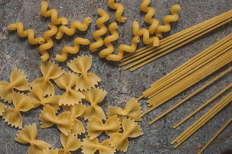 Various Pasta Shapes by Gabriel (Gabi) Bucataru for Stocksy United