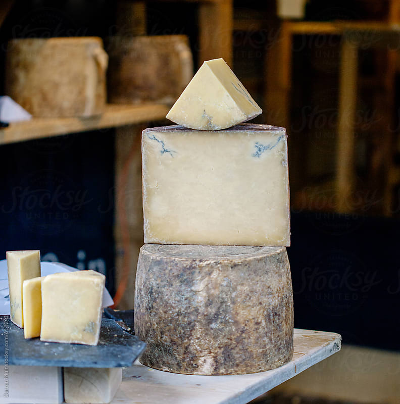 Artisan cheese.  by Darren Muir for Stocksy United