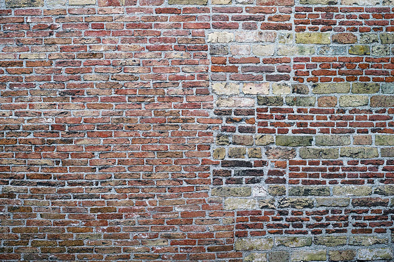 Old brick wall by Marcel for Stocksy United