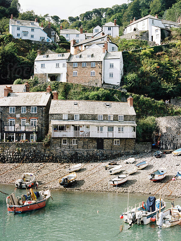 Clovelly, Devon.  by Kirstin Mckee for Stocksy United