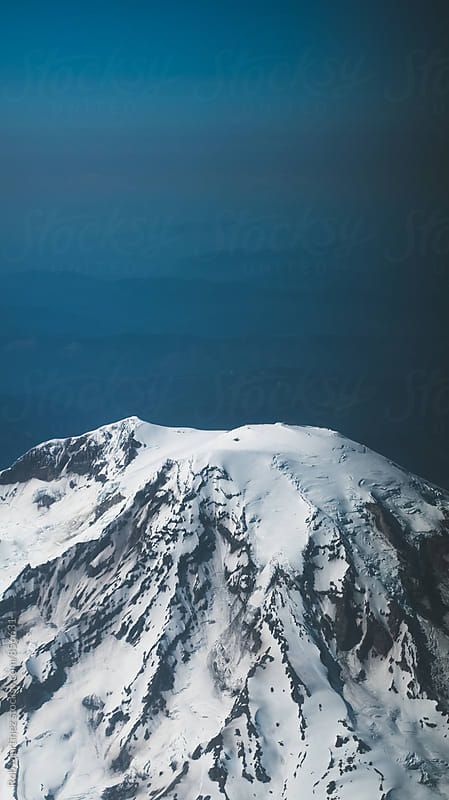 SNOWY MOUNTAIN by Rob Martinez for Stocksy United