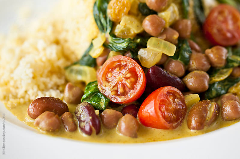 Vegetarian Curry by Jill Chen for Stocksy United